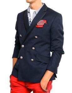 Посадка мужского пиджака