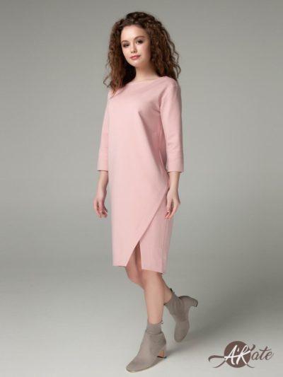 Платье баллон розовое - akaterina.ru