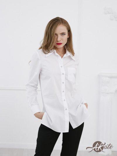Рубашка с вышивкой AU18BL0210